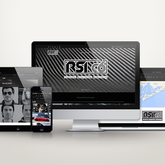 responsive restyling sito web aziendale website rsi c6 giaco studio