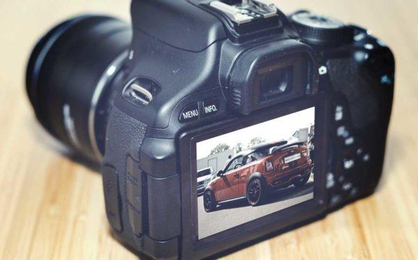 fotocamera restyling sito web aziendale website rsi c6 giaco studio