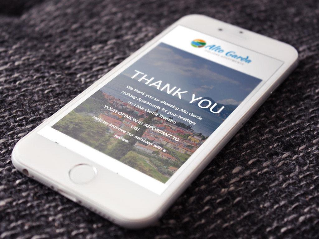 web marketing email marketing riva del garda smartphone giaco studio