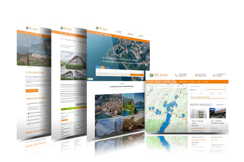showcase sito web annunci online alto garda immobiliare giaco studio