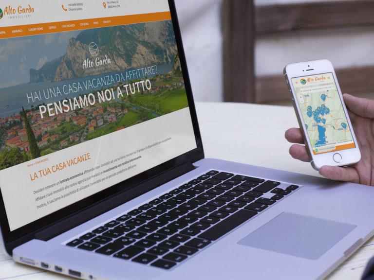 responsive sito web annunci online alto garda immobiliare giaco studio