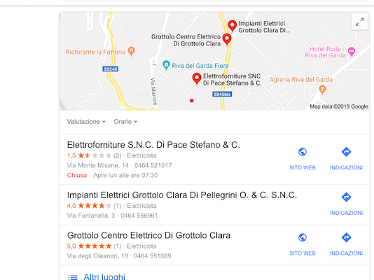 local seo google local pack