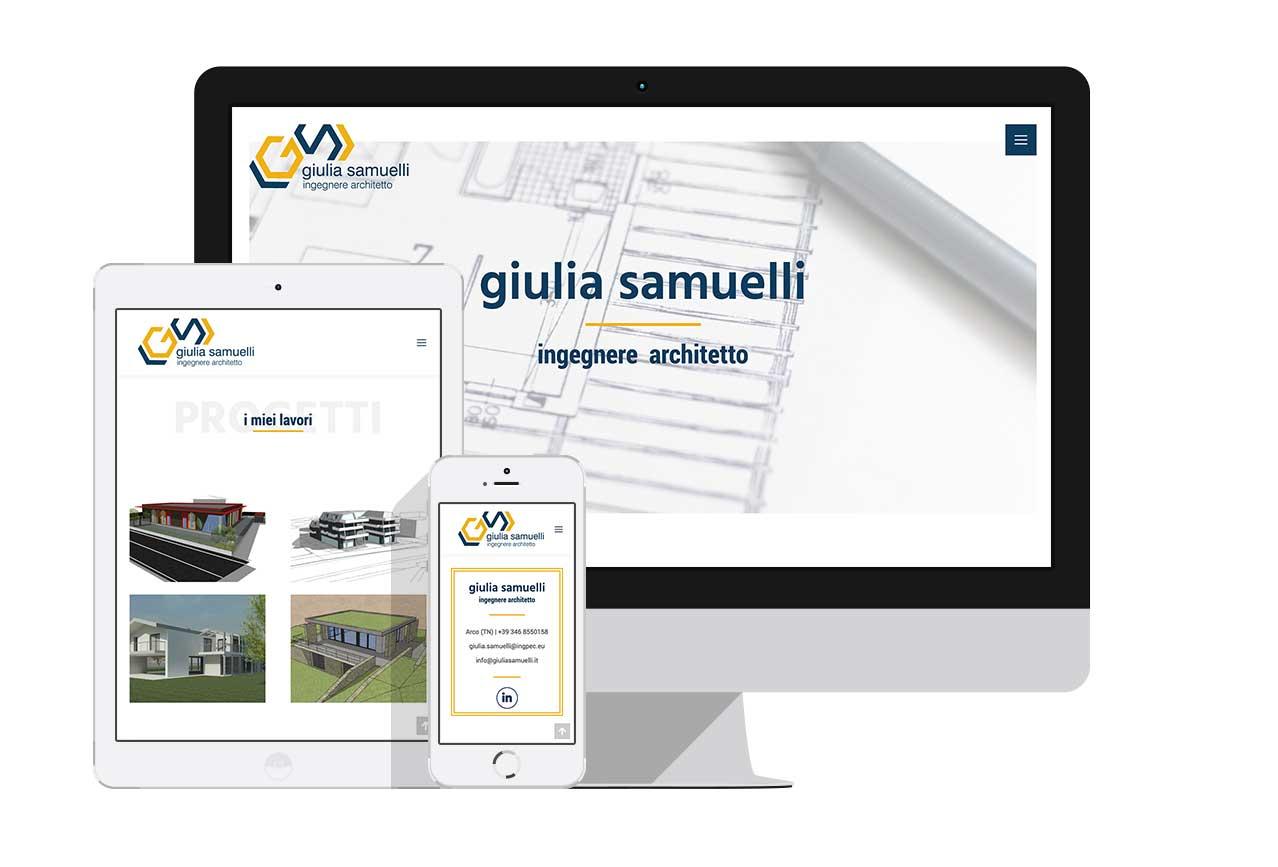 sito web one page professionista arco