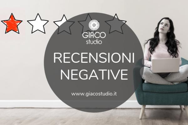 recensioni negative 8 consigli