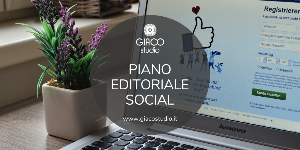 come creare un piano editoriale social in 5 step giaco studio