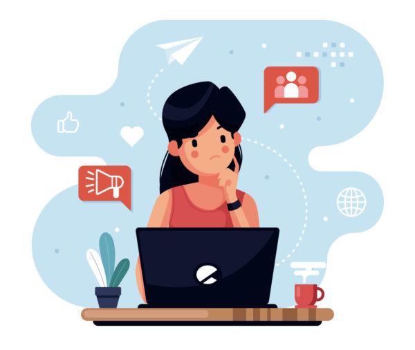 comunicare sui social network blog Giaco studio