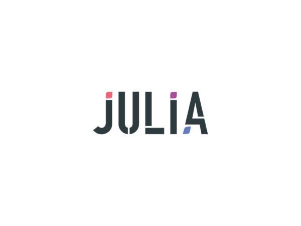 logo julia biondo
