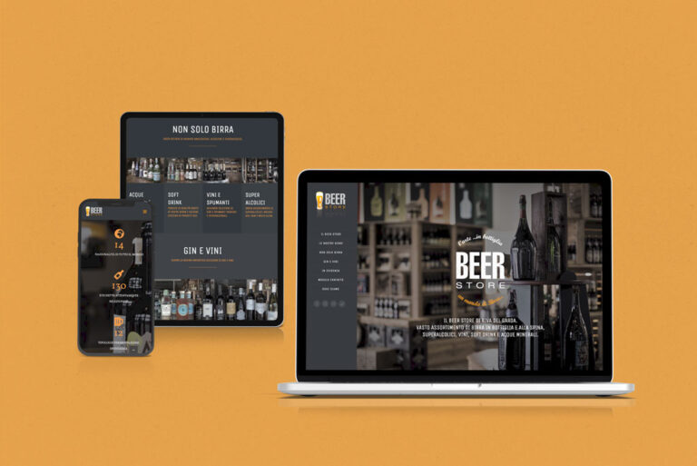 sito one page Beer Store Horeca Bevande
