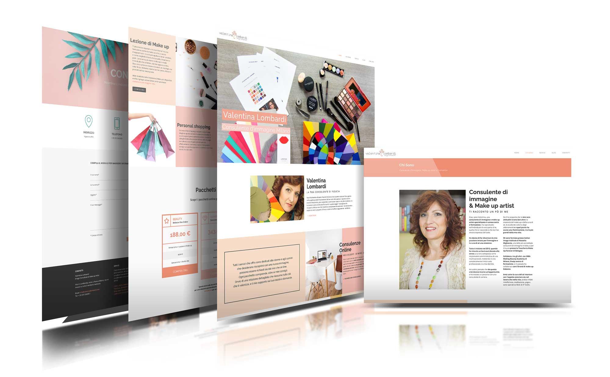 Valentina Lombardi Restyle sito web Giaco studio