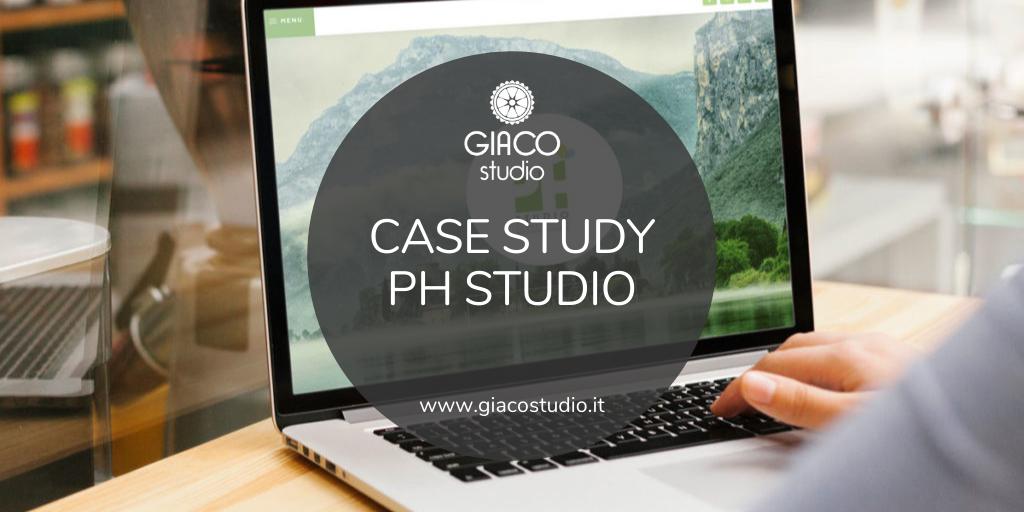 Case study Analisi problemi sito web PH studio Giaco studio